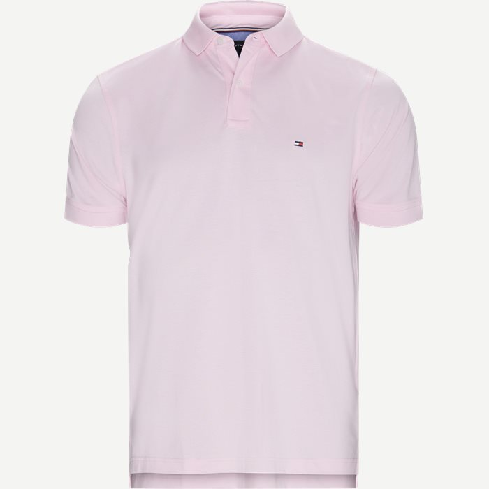 Core Tommy Regular Polo - T-shirts - Regular - Pink